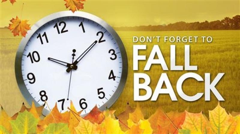 Don't Forget to Fall Back This Weekend